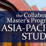 Collaborative Master's Program in Asia-Pacific Studies