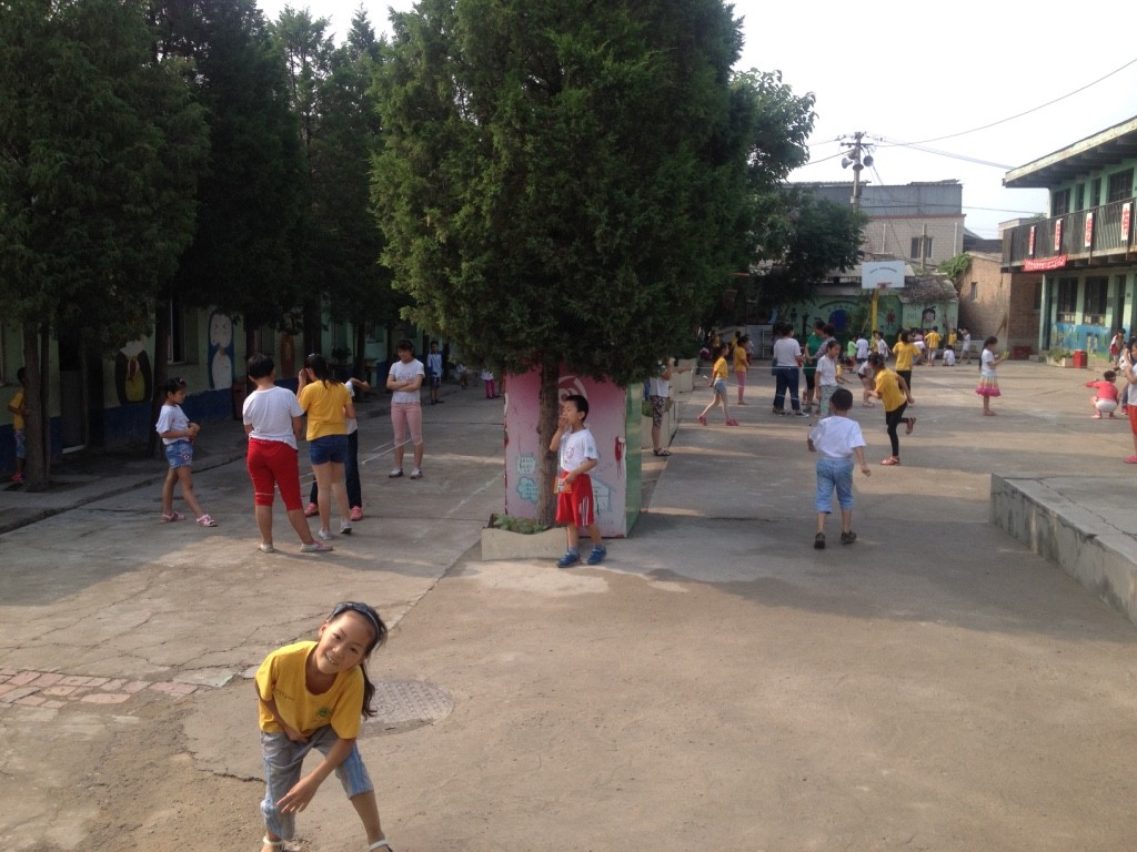 Recess at Tongxin Experimental School