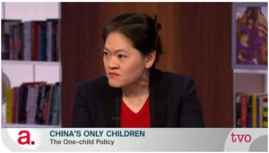 Lynette Ong on TVO's The Agenda discussing China's One-Child Policy