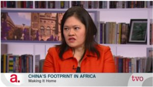 Lynette Ong Discusses Chinese Investment in Africa on TVO's The Agenda