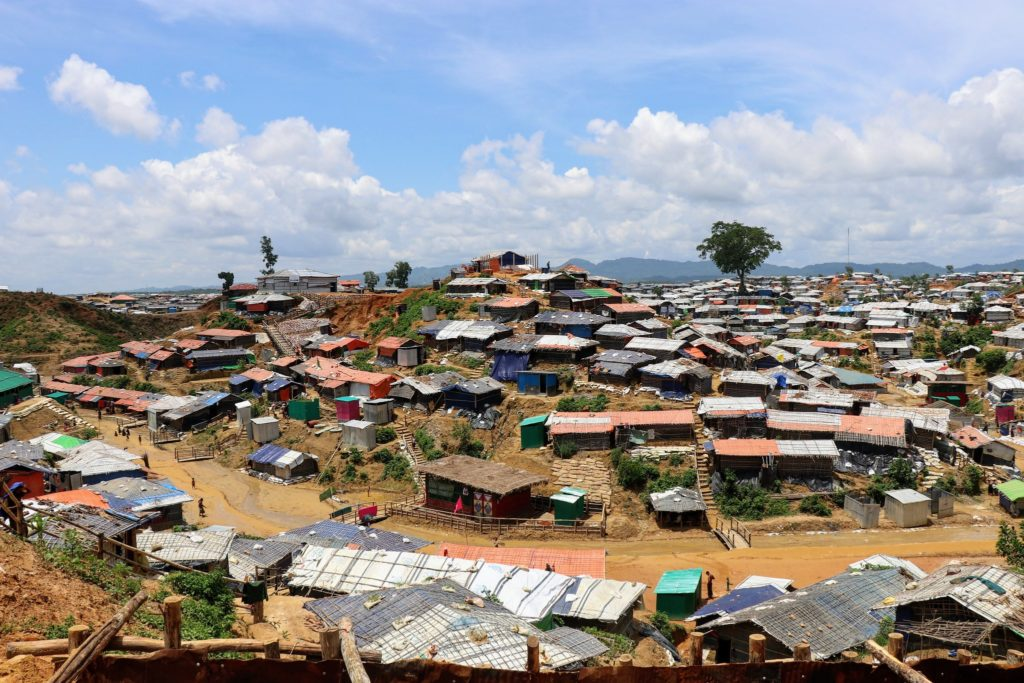 Cox's Bazar Refugee Camp in Bangladesh. Photo by Kassandra Neranjan.