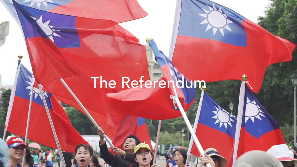 """Title image from """"The Referendum"""""""
