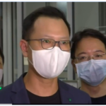 People wearing masks in Hong Kong