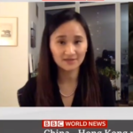 Diana Fu screenshot from BBC News Interview