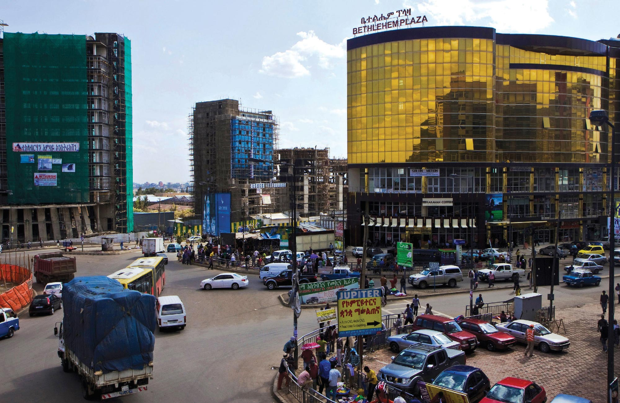 Addis Ababa in Ethiopia.