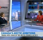 Image of Sara French appearing on CTV program