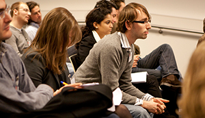 Photo of Students Working in Seminar