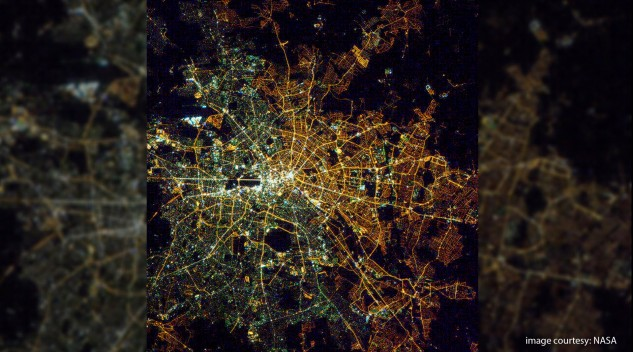 Berlin from Space. Image (c) NASA