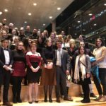 CERES students attending a performance of Rusalka at the Canadian Opera Company, October 2019