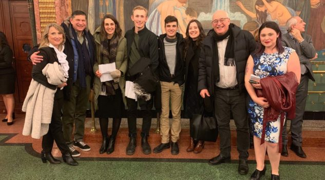 Tom and Irene Mihalik joined CERES students and Prof. Robert Austin for their research trip to Budapest.