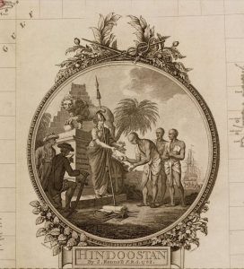Colonial era drawing from book The Loss of Hindustan.