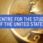 """Text faded on top of photo showing american coin --- reads """"Centre for the Study of the United States"""" (Photo credit: https://www.flickr.com/photos/scotthudson/2986260634)"""