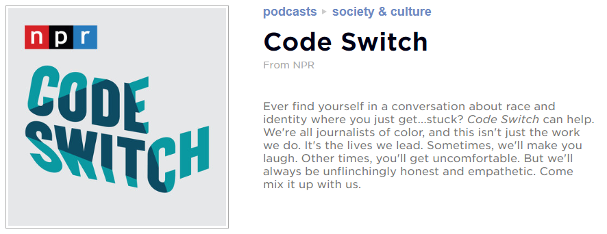 Code Switch graphic