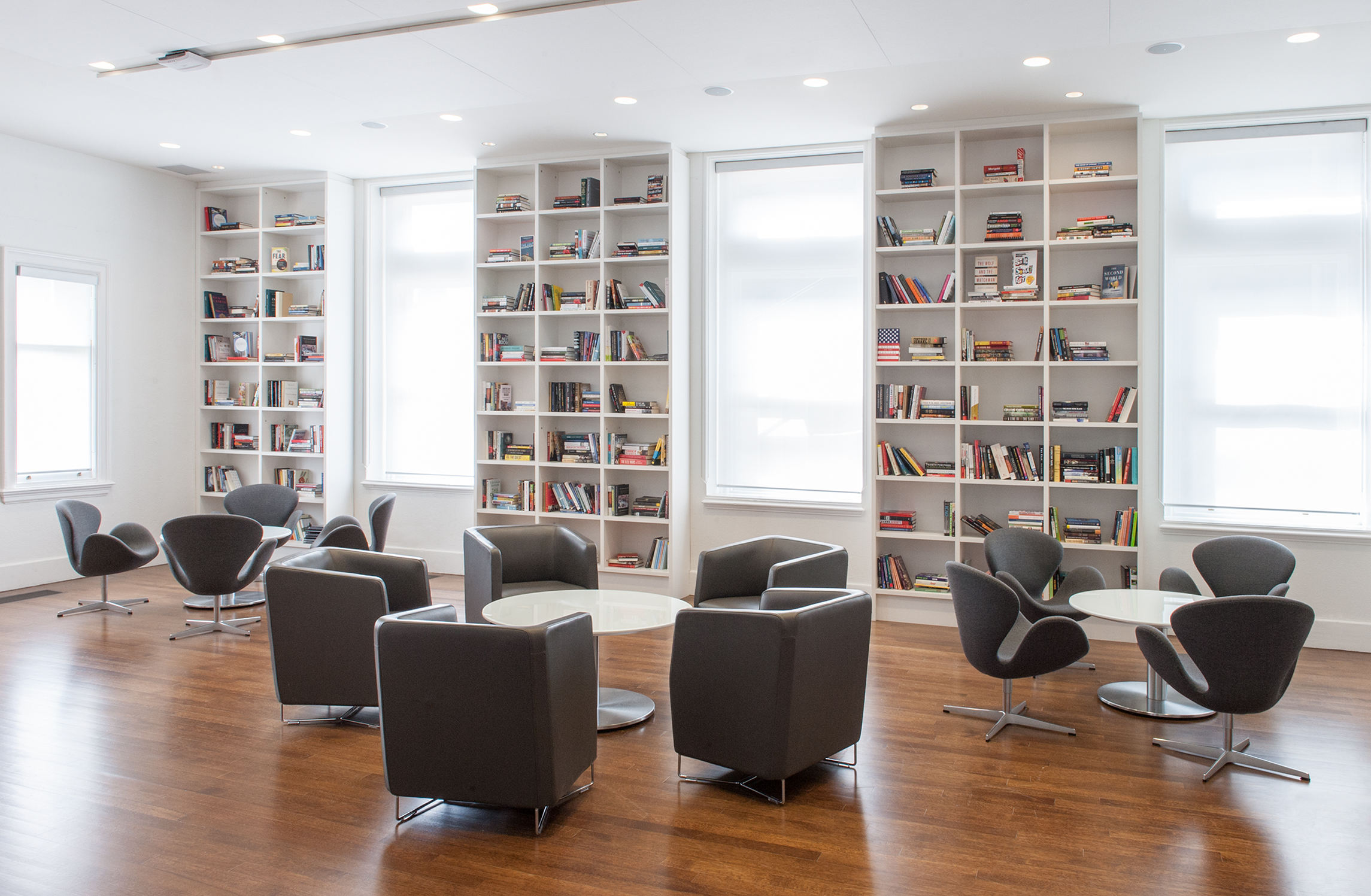 The Library at 315 Bloor Street West is an ideal location for receptions and small gatherings