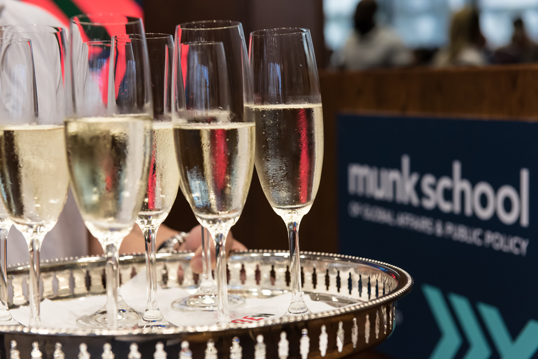 Hold your next reception or holiday party at the Munk School