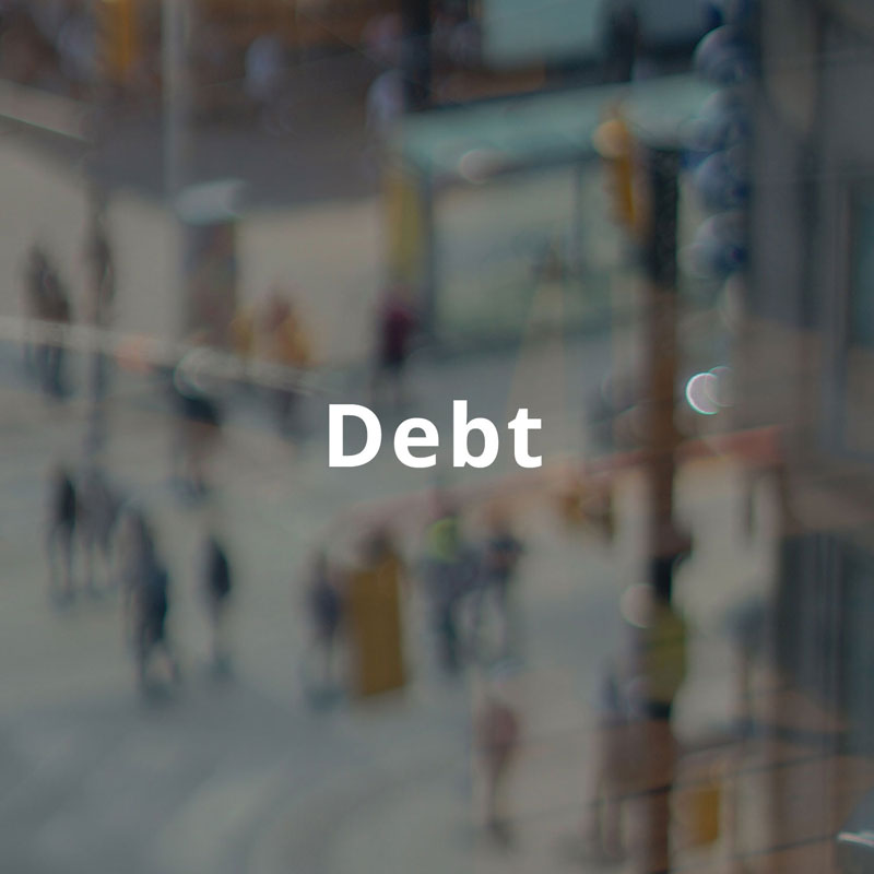 Title image for Debt