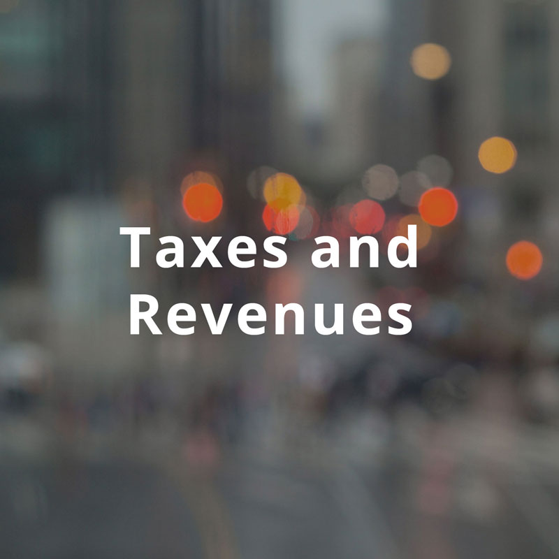 Title image for Taxes and Revenues