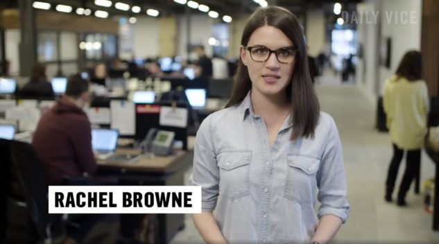 Rachel Browne reporting for Vice
