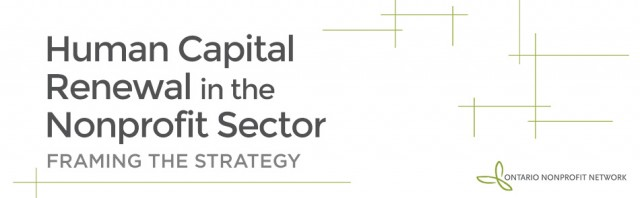 Human Capital Renewal in the Nonprofit Sector