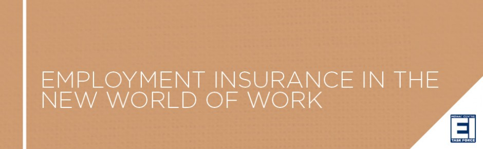 Employment Insurance in the New World of Work