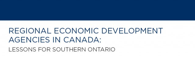 Regional Economic Development Agencies in Canada