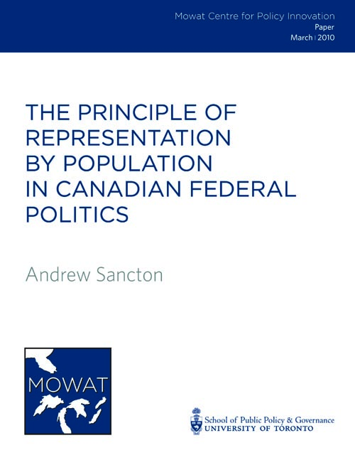 Sancton - Rep by Pop Report.indd