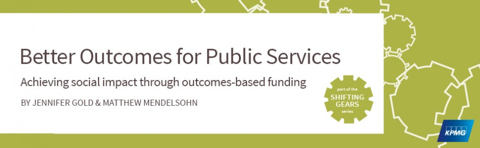 Better Outcomes for Public Services