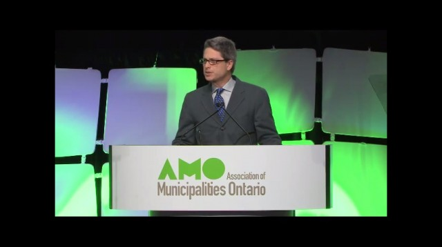AMO AGM & Annual Conference 2014 Keynote Speech by Matthew Mendelsohn