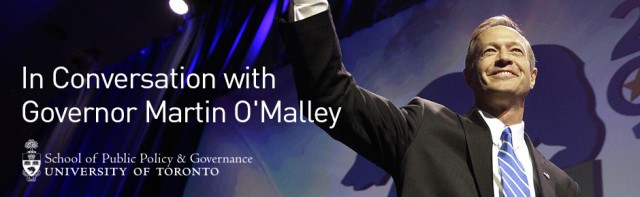 SPPG Event: In Conversation with Governor Martin O'Malley