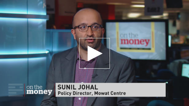 Sunil Johal talks to CBC about 'precarious' employment