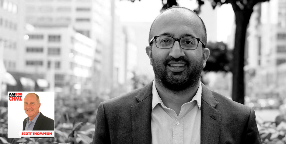 Sunil Johal on The Scott Thompson Show discussing the future of jobs and automation