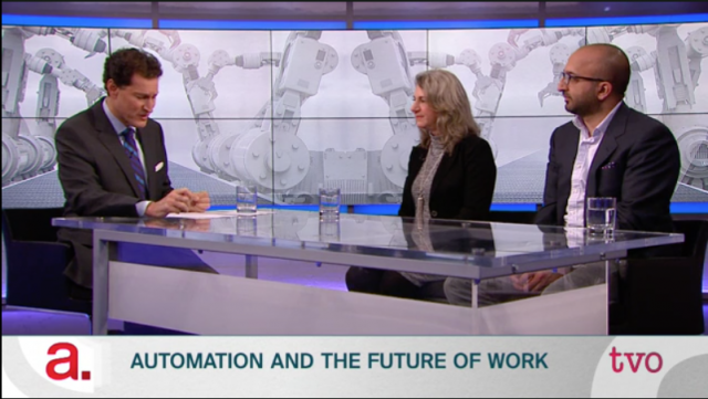 Video: Automation and the Future of Work on TVO's The Agenda