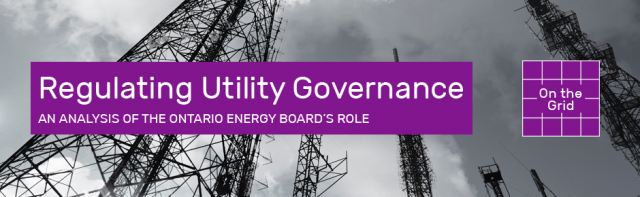 Regulating Utility Governance