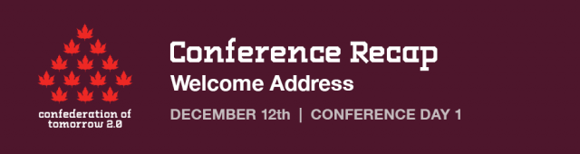 CoT Conference Recap: Day 1 – Welcome Address