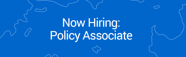 Job Opportunity: Policy Associate (2-year Term)