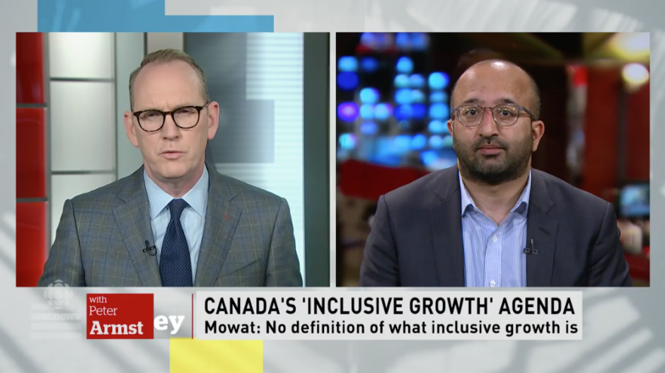 Sunil Johal discusses Mowat's Race to the Top report