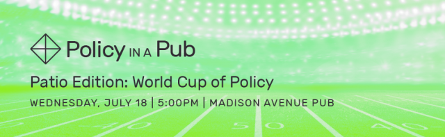Policy in a Pub: World Cup of Policy