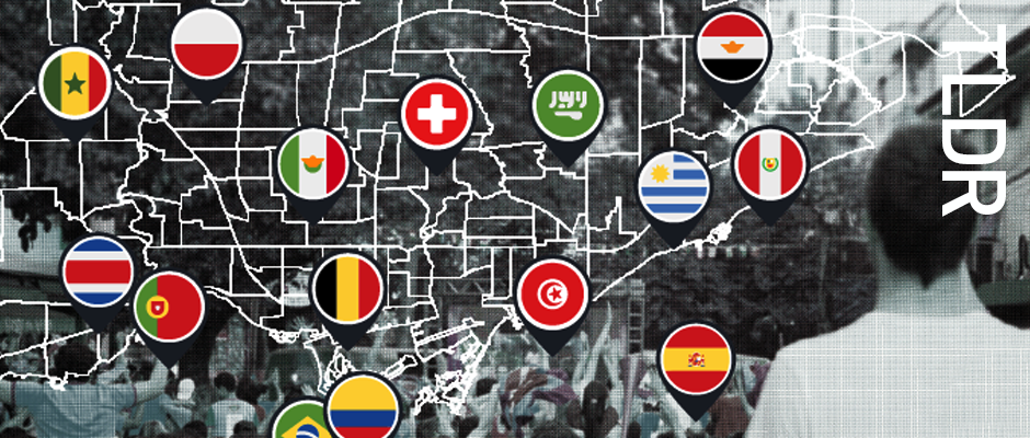 Where to go in Toronto to watch the World Cup