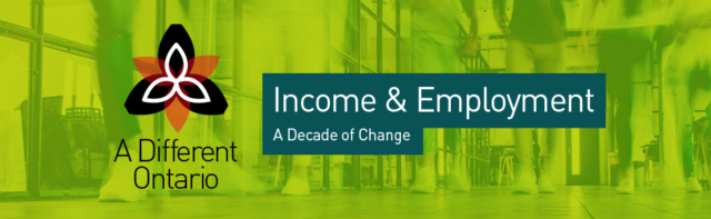 A Different Ontario: Income & Employment