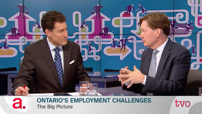 Andrew Parkin on Employment and Income in Ontario