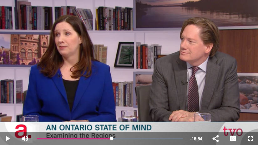 TVO's The Agenda: An Ontario State of Mind