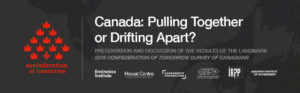 Event: Canada - Pulling Together or Drifting Apart?