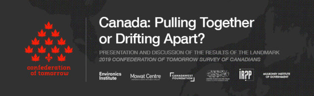 Canada: Pulling Together or Drifting Apart?