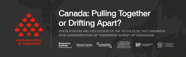 Halifax Event: Canada – Pulling Together or Drifting Apart?