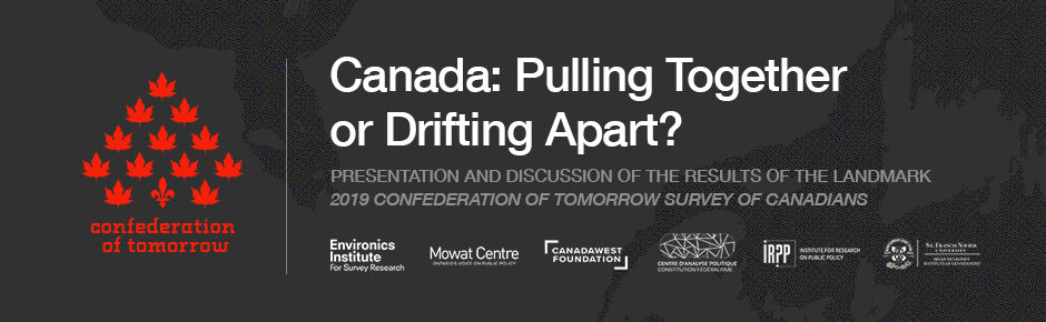 Event: Canada – Pulling Together or Drifting Apart?