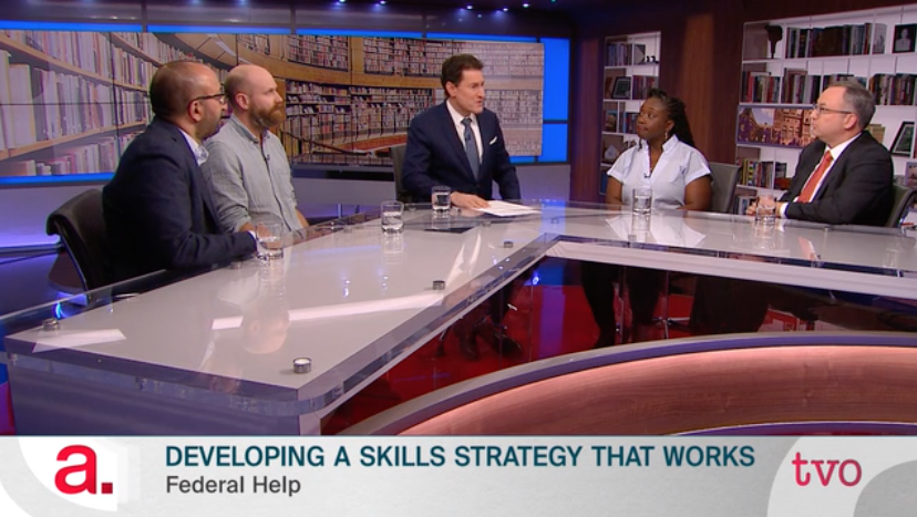 Sunil Johal discusses skills training on The Agenda with Steve Paikin