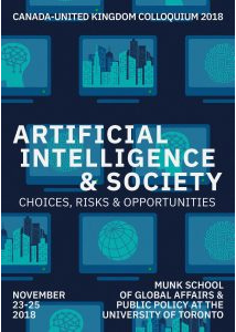 2018 – Artificial Intelligence & Society: Choices, Risks & Opportunities