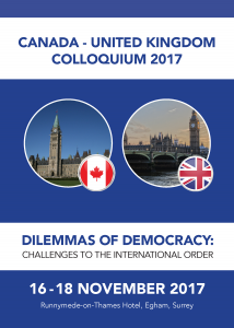2017 – Dilemmas of Democracy: Challenges to the International Order
