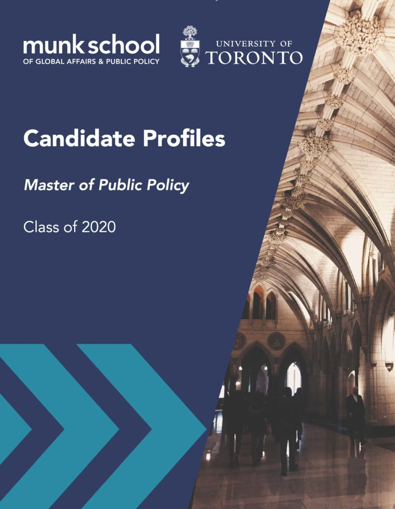 Candidate Profiles Candidate Profiles