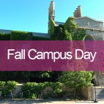 Fall Campus Day Banner on photo of Hart House